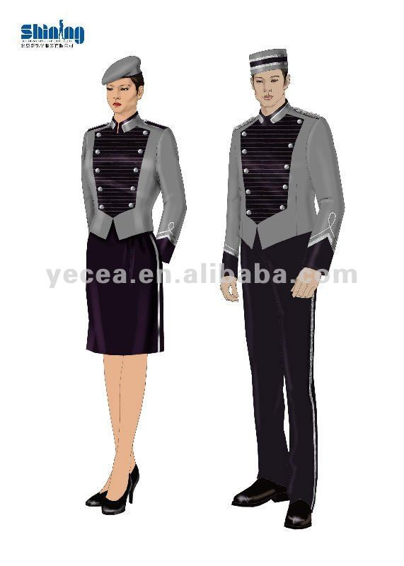 doorman uniform woman - Google Search