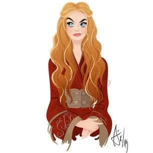 """55 Inspiring Pieces Of Fan Art Of The Women Of """"Game Of Thrones"""""""