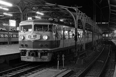 上野といえばゴーナナの時代 - 鉄道写真1973~1982