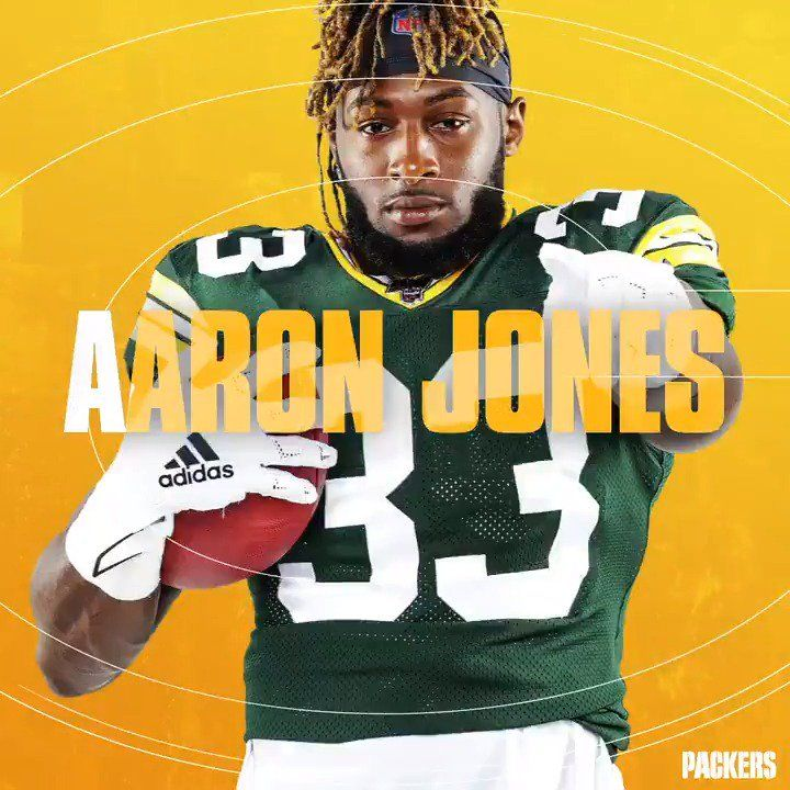 Green Bay Packers On Twitter Aaron Jones Gopackgo Gopackgo Gopackgo Gopackgo Green Bay Packers Fans Green Bay Packers Packers