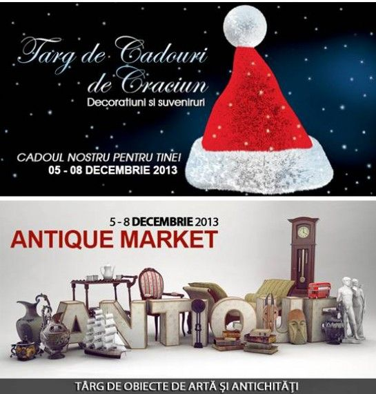 ROMEXPO da startul cumparaturilor pentru sarbatorile de iarna la Targul Cadourilor de Craciun si Antique Market