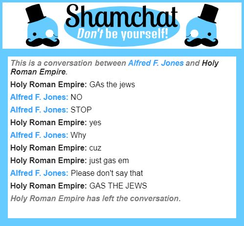 A conversation between Holy Roman Empire and Alfred F. Jones