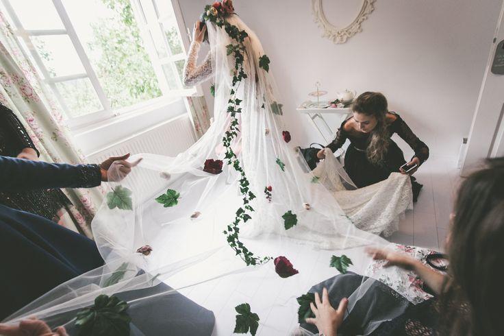 Margot delicate craft custom made bridal veil  conceptmargot@gmail.com
