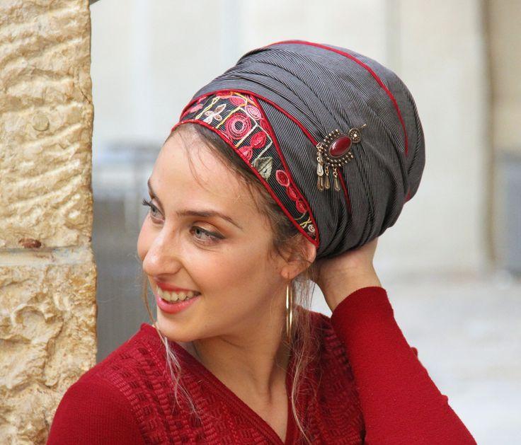 Winning Shakked Headscarf Sinar TICHEL, Hair Snood, Chemo Snood, Head Scarf, Red Head Covering, Jewish Headcovering, Scarf, Bandana, Apron by SaraAttaliDesign on Etsy https://www.etsy.com/il-en/listing/566956351/winning-shakked-headscarf-sinar-tichel