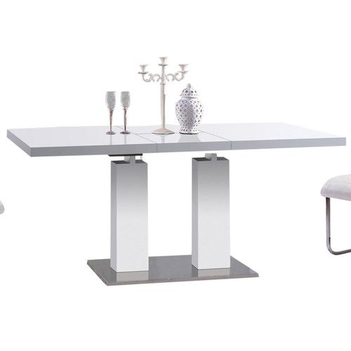 Best 25 expandable dining table ideas on pinterest expandable table smart table and dining - Kitchen table expandable ...