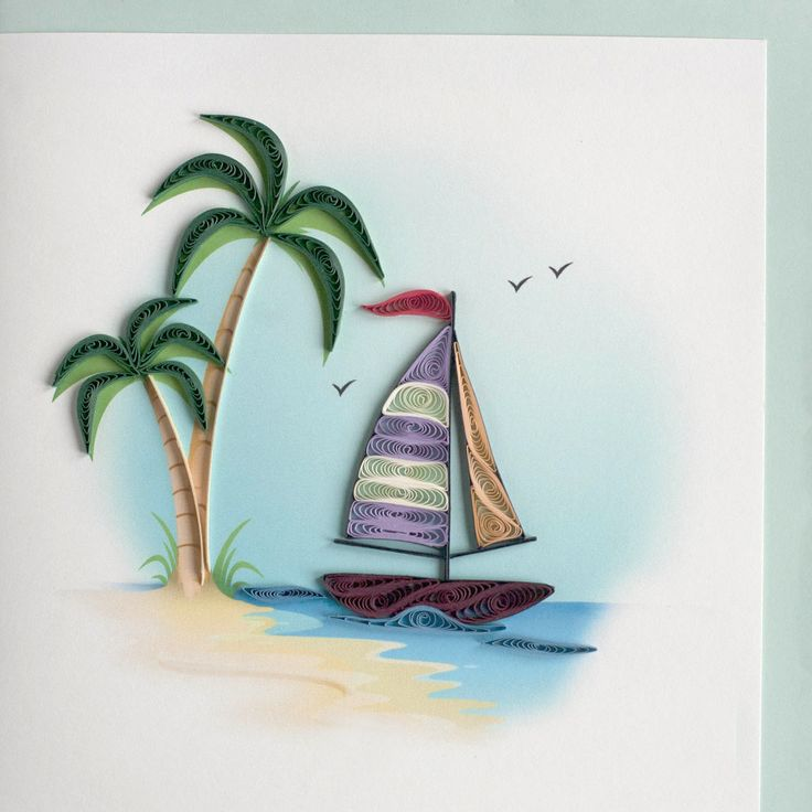 Boat quilling