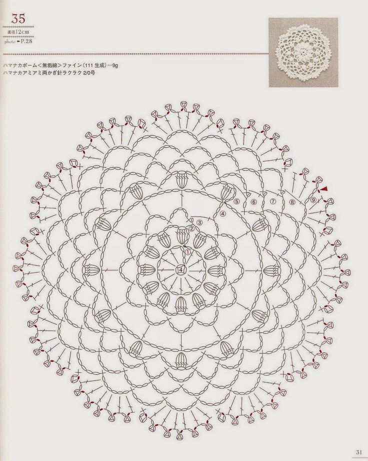 266 best Crochet Mandala images on Pinterest | Crochet doilies ...