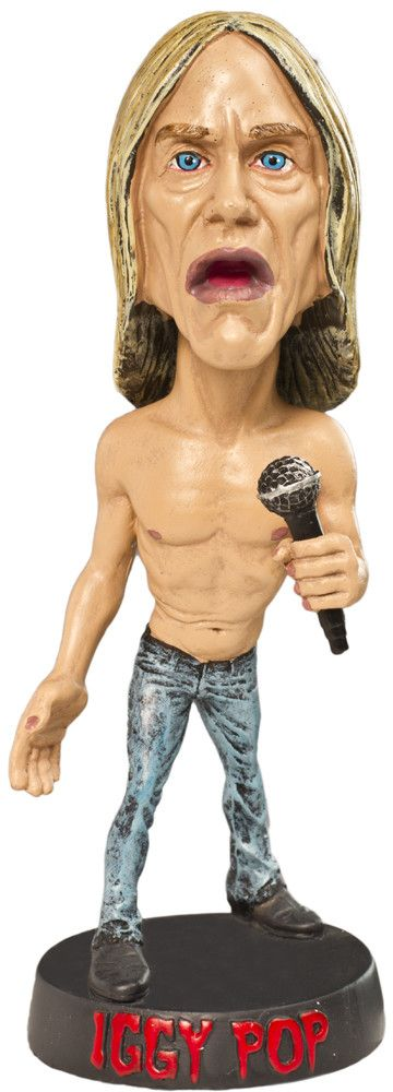 Image result for iggy pop bobble head