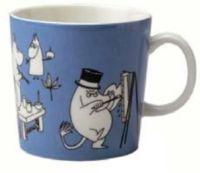 2. Moomin Mug Blue 1990 - 1996