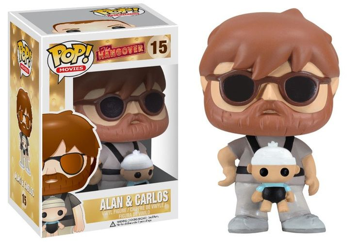 Oooh baby! Now available at Collekt; The Hangover - Al...  come and get it http://www.collekt.co.uk/products/the-hangover-alan-baby-carlos-15?utm_campaign=social_autopilot&utm_source=pin&utm_medium=pin #Funko #funkopop #Funkouk