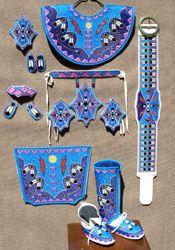 how to make fancy shawl regalia | Ladies Fancy Shawl Beadwork
