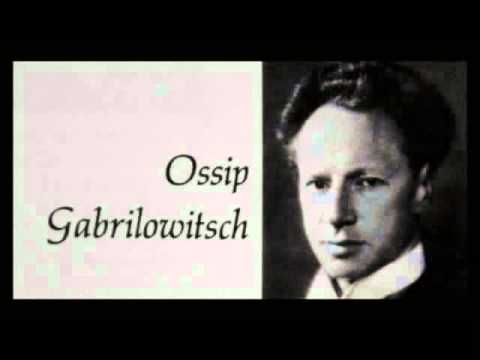 Chopin / Ossip Gabrilowitsch, 1905: Mazurka in B minor, Op. 33, No. 4