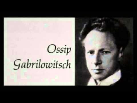 Chopin / Ossip Gabrilowitsch, 1905: Mazurka in B minor, Op. 33, No. 4