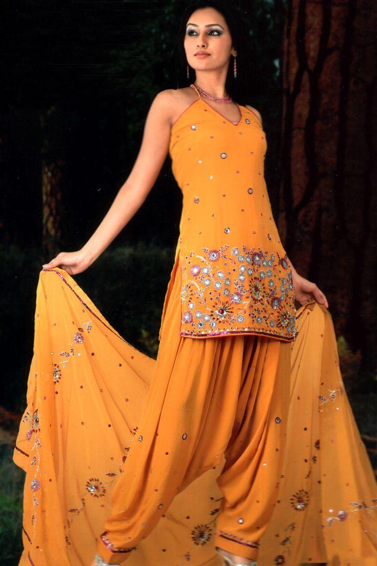 Here View Punjabi Salwar Kameez Designs And Punjabi Salwar -8107