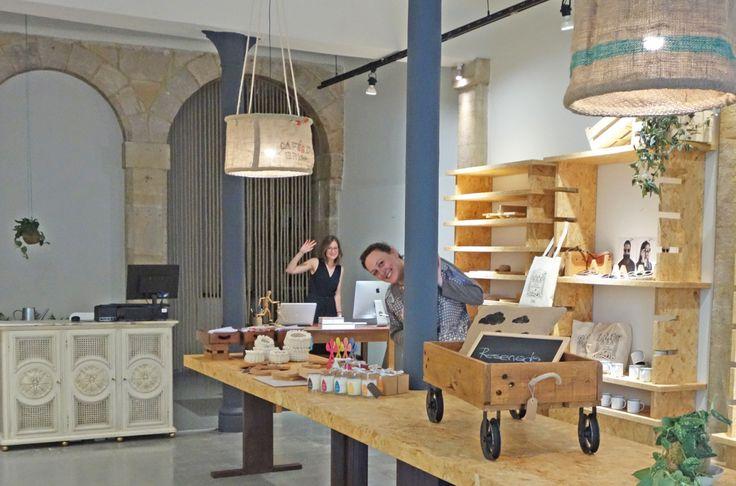 KËNSLA un nuevo espacio de venta y exposición en Bilbao para mimar a diseñadores y artesanos | verybilbao.com