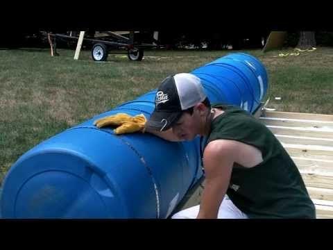 Homemade Pontoon Boat 3 - YouTube
