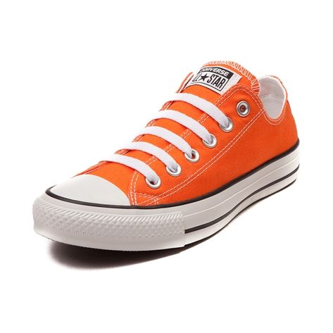 Shop for Converse All Star Lo Sneaker in Vibrant Orange at Journeys Shoes.