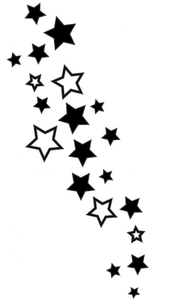 Stars Diycuttingboard Tattoo Tatuaże Tatuaż I Wzory