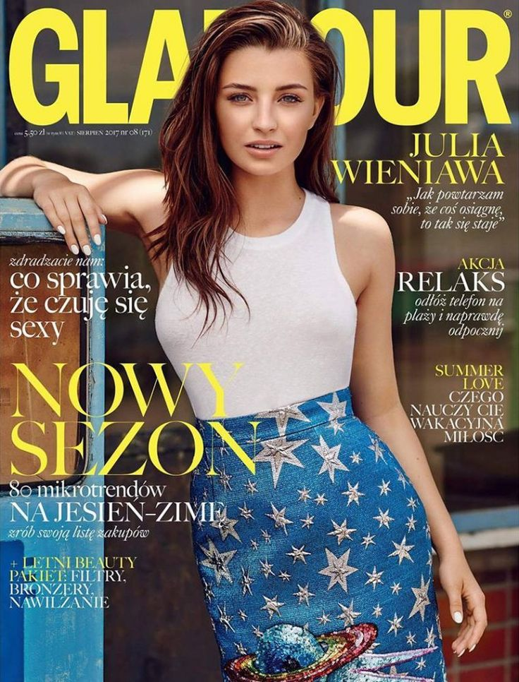 Julia Wieniawa for Glamour Poland August 2017 Cover