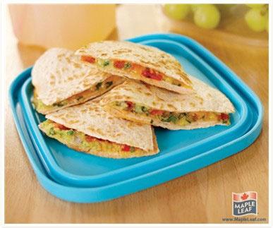 Lunchbox Quesadilla from www.MapleLeaf.com