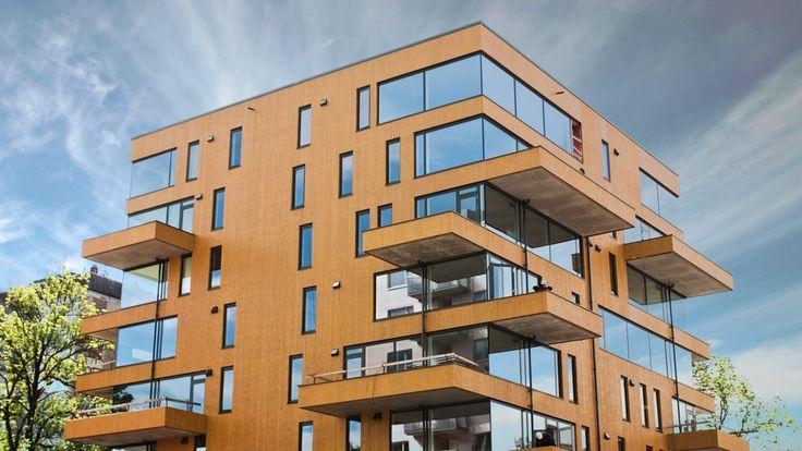 Byggherre: Ullevål Boligutvikling Arkitekt: Code Entreprenør: Solid Entreprenør Ullevål Tårn består av av 32 leiligheter med ca 2 757 kvm bolig og 32 garasjeplasser i underjordisk garasjeanlegg. Prosjektet er et moderne og sentrumsnære leilighetsbygg hvor en levende fasade med materialer i høy kvalitet har stått i fokus. Foto: Anders Øvergaard