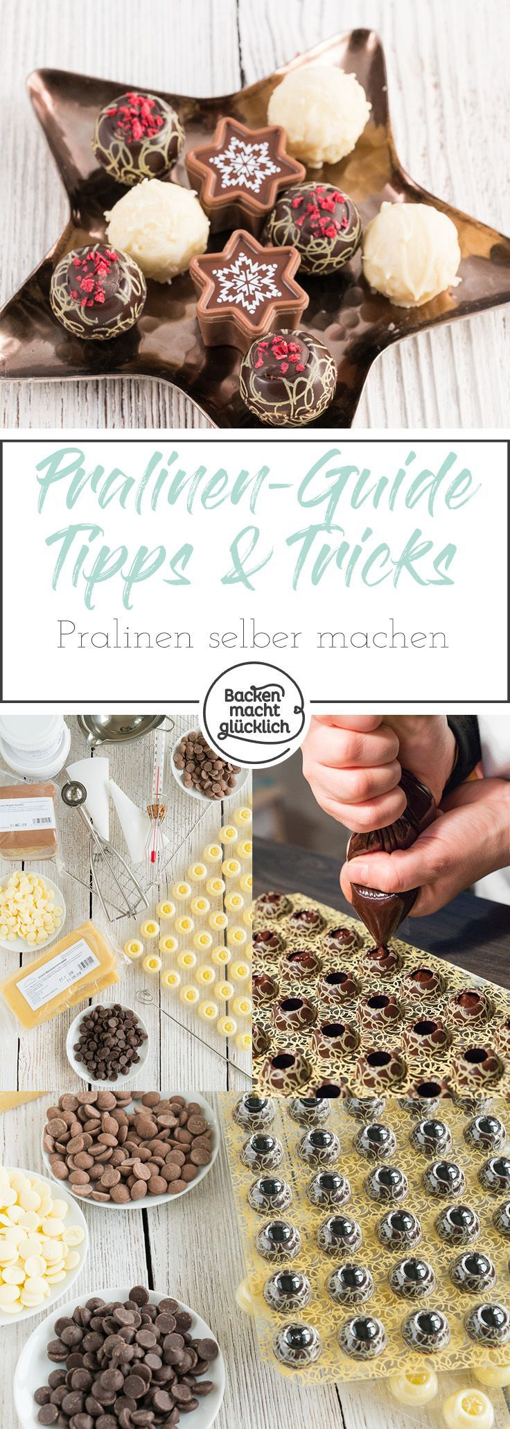 Pralinen selbermachen: Rezepte & Tipps – DIY Geschenke | Geschenkideen