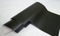 Черная ткань под 3D карбон