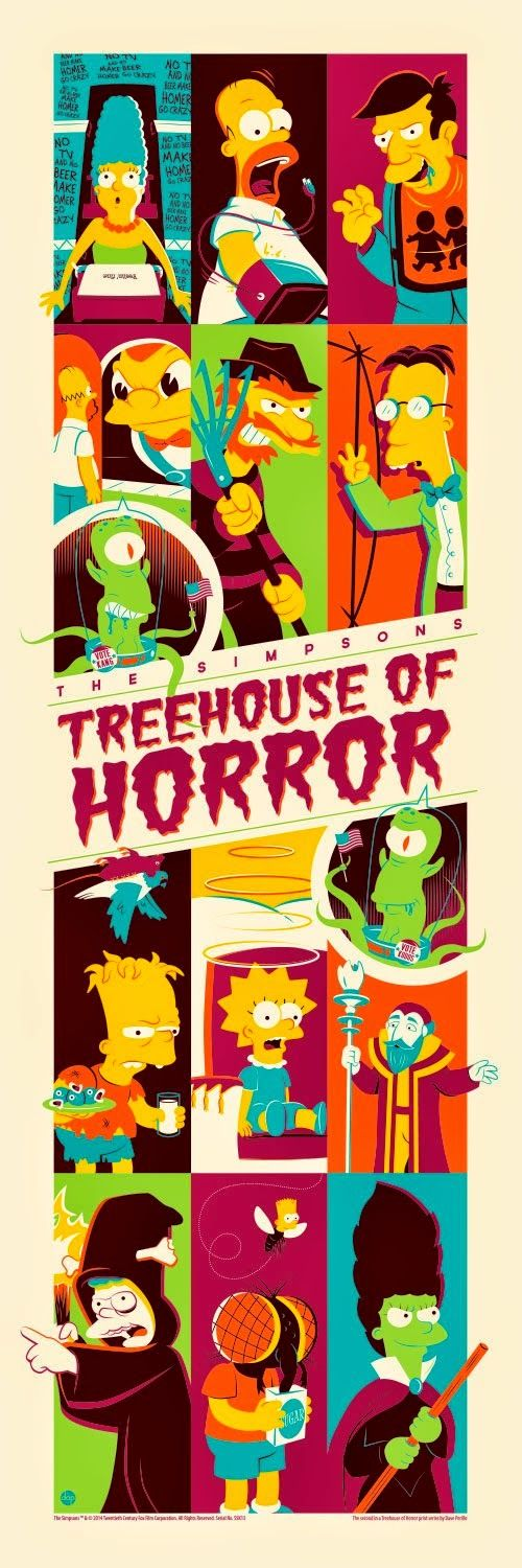 'The Simpsons Treehouse of Horror' by Dave Perillo