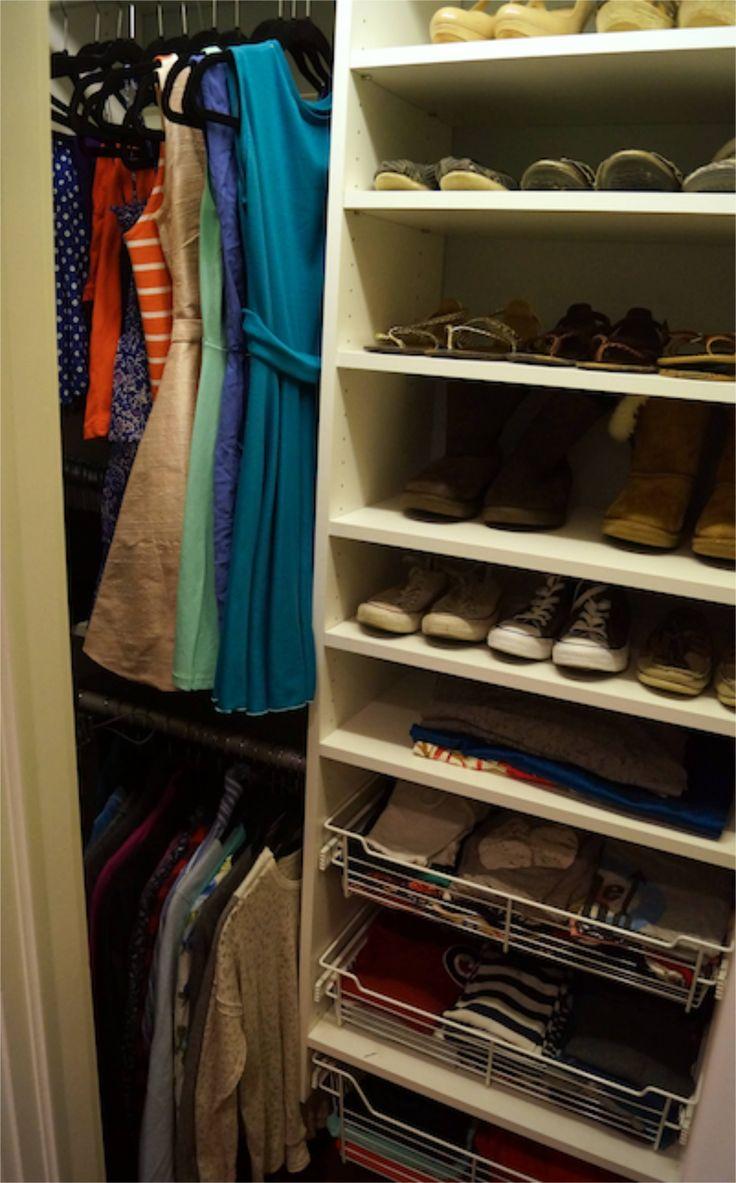 Best 25 Teen Closet Organization Ideas On Pinterest