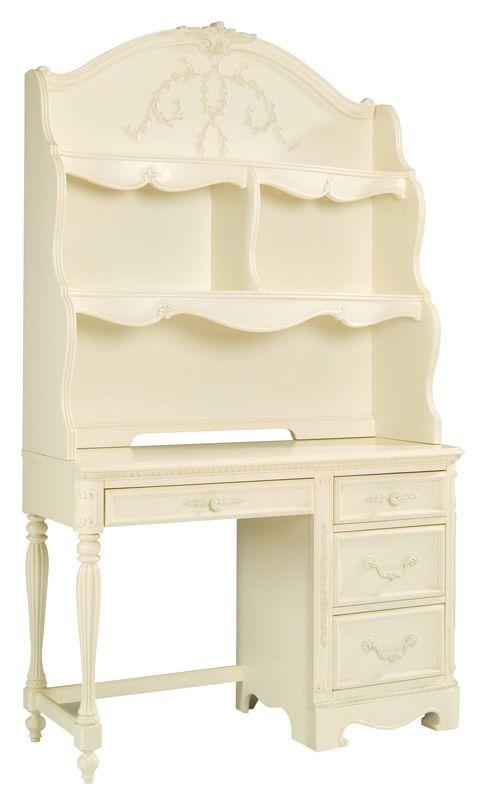 Lea Industries Furniture: Jessica McClintock Collection Drawer Student  Desk. #kidsdesk #studentdesk
