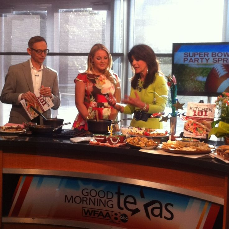 best super bowl recipes and easy super bowl recipes on Good Morning Texas TV