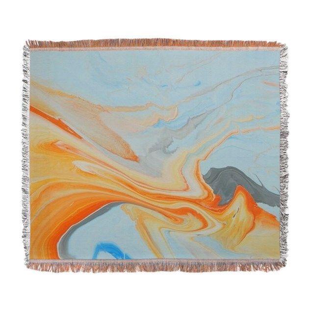 Fire Spear Woven Blanket by Admin_CP139224578