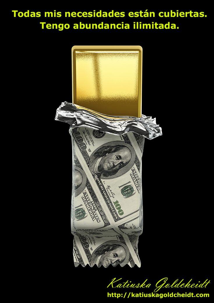 EL UNIVERSO ME REGALA TODO. Todos los proyectos que realizo son un éxito, soy reconocida y gano mucho dinero. El Dinero es mi regalo del UNIVERSO, recibo dinero en abundancia de todas partes... Sigue leyendo en: http://katiuskagoldcheidt.com/el-universo-me-regala-todo/