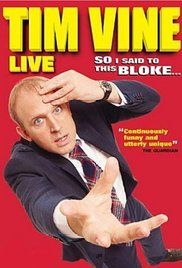 Tim Vine So I Said To This Bloke Online. 'Punslinger' Tim Vine, holder of the Guinness World Record for telling the most jokes in one hour (499!), delivers his rapid-fire one-liners to an eager audience at London's Bloomsbury Theatre in 2008.