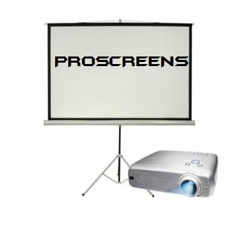 London screen projector rental hire London and Surrey cheap