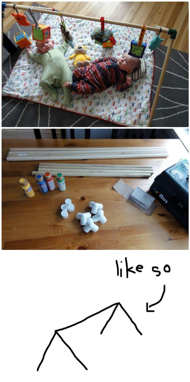 best 25 baby gym ideas on pinterest wood baby gym diy. Black Bedroom Furniture Sets. Home Design Ideas