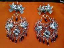 *Tita Rubli Mexican Jewelry: Traditional Mazahua earrings