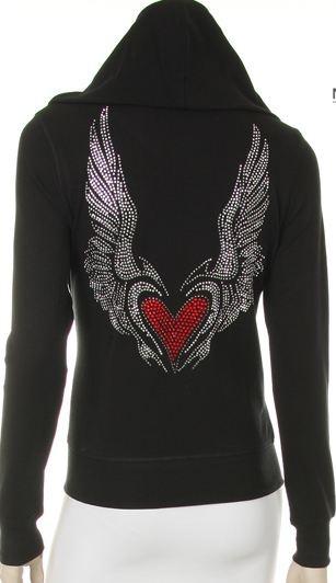 Angel wing hoodie