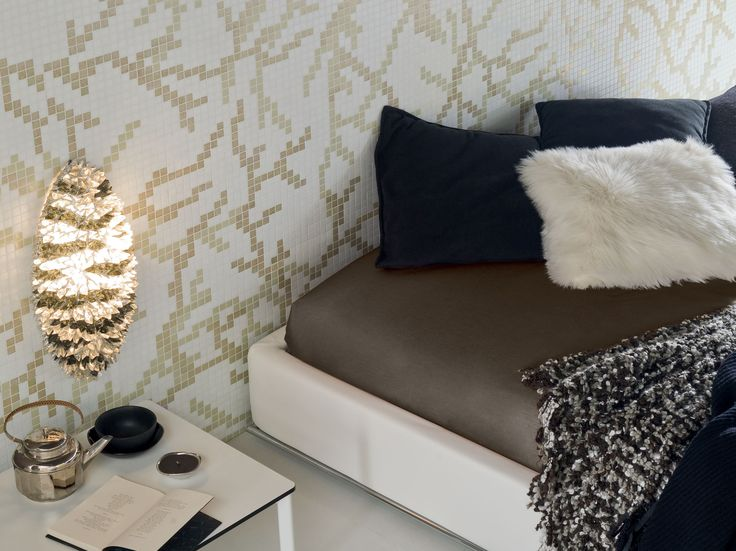 Mosaico in vetro WALLPAPER 2x2 by Trend Group