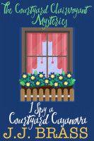 https://www.smashwords.com/books/view/754461 #LGBTQIA #aro #ace #cozy #mystery I Spy a Courtyard Casanova, an ebook by J.J. Brass