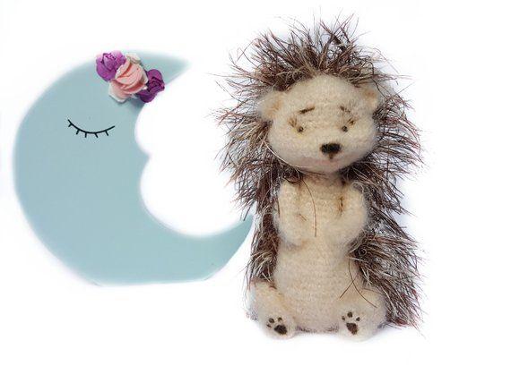 Hedgehogs crochet hedgehog cute hedgehoghandmade doll animal | Etsy