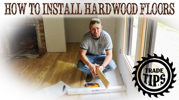 How to install hardwood floors. How to lay wood floors. How to staple down wood floors. How to nail down wood floors. Wood Floor installation tips. A 200K Pl...