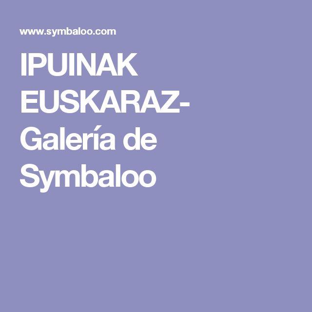 IPUINAK EUSKARAZ- Galería de Symbaloo