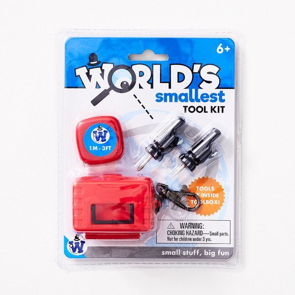 World S Smallest Tool Kit Paper Source In 2021 Tool Box Diy Small World Tool Kit