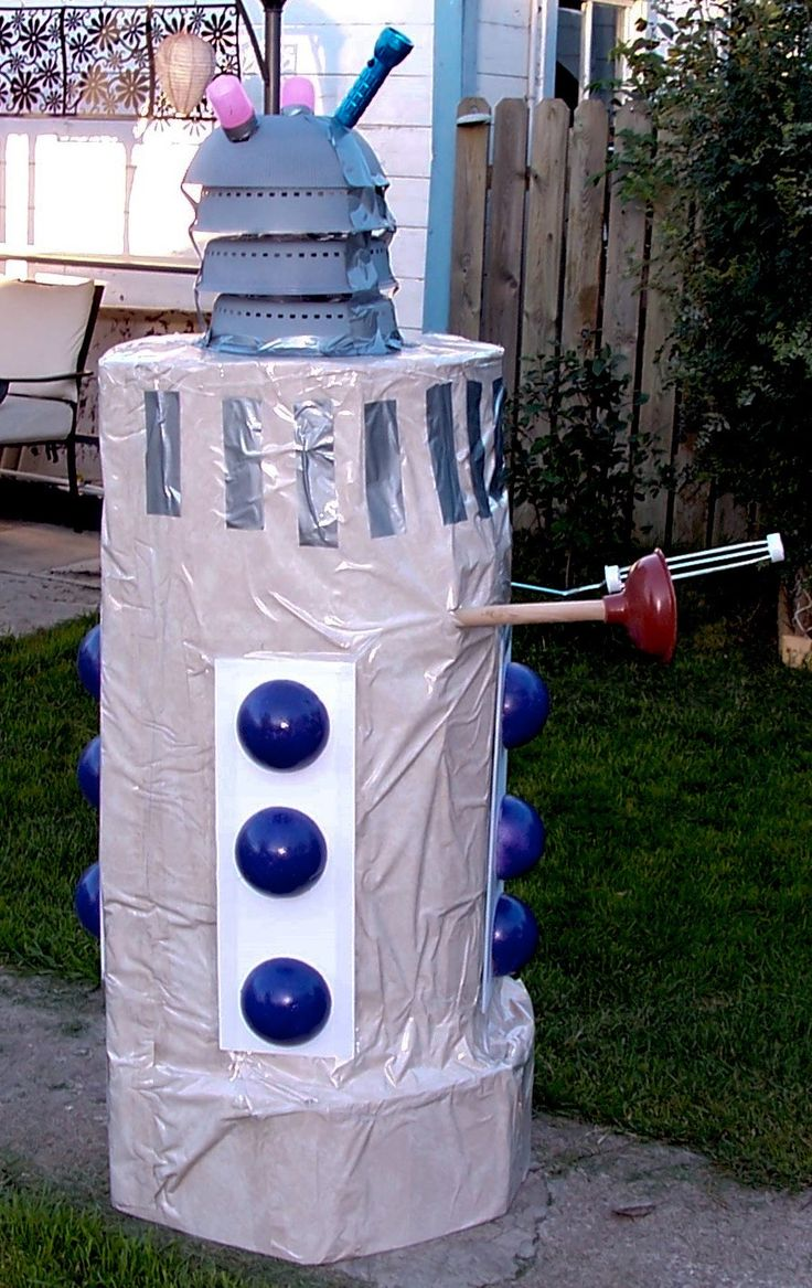 homemade DARLEK