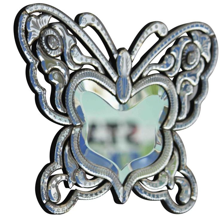 Stunning Butterfly Mirror