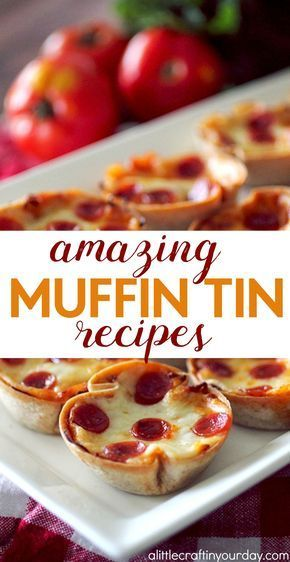 Who wants to make some amazing muffin tin recipes? These are perfect appetizers, after school snack, quick & simple dessert, yummy entree ideas that are easy, and more! You're going to love these 20+ simple recipe ideas.