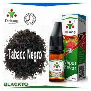 E-líquido Dekang sabor a tabaco Negro para recargar tu cigarrillo electronico o e-cigarro. Ideal para uso en E-Cartomizadores ó Cigarros Electronicos, tipo Ego. - Gradación (0mg, 6mg, 12mg, 18mg, 24mg) - Bote de 10 ml. (100% certificados. OFERTÓN: 4,50€ Envio 24-48 http://www.elpelicano-vapeador.es/e-liquidos-dekang/18-tabaco-negro-e-liquido-cigarrillo-electronico.html