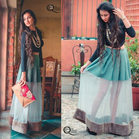 Get this look: http://lb.nu/look/7054464  More looks by Ms Coco Queen: http://lb.nu/mscocoqueen  Items in this look:  Huemn Skirt, Indian Jewellery