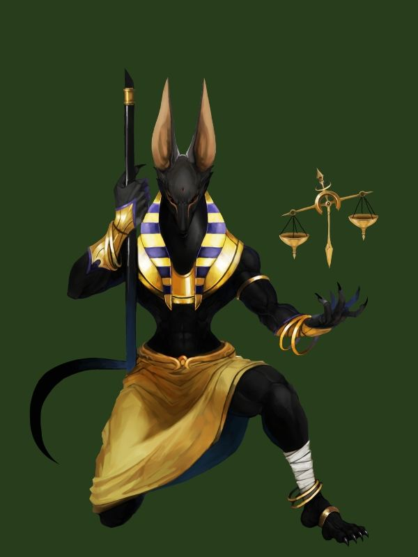 Egyptian Pantheon- Anubis